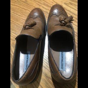 Men's Shoes Johnson & Murphy Brown Size 10